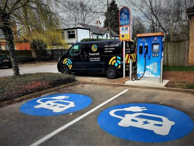 Electric Vehicle Charger Provider Across the UK